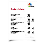 Gebuehrenkatalog download